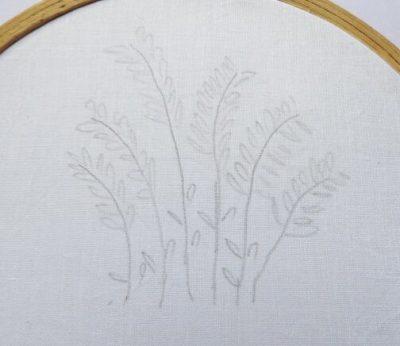 diseños de bordado de flores