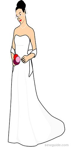 diferentes tipos de velos de novia