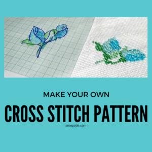 cómo hacer un patrón de punto de cruz