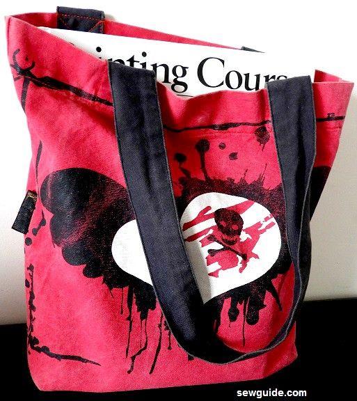 telas para hacer bolsas