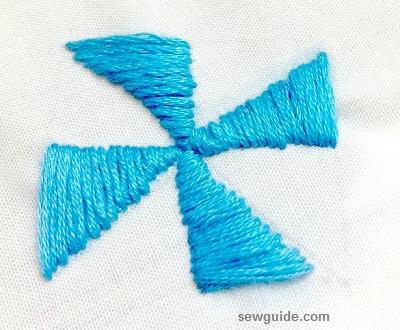 patrón de bordado