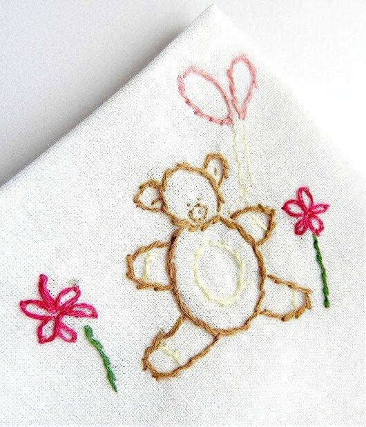 diseños de bordado de bebé gratis