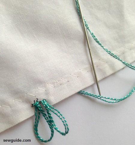 cómo hacer adornos de flecos