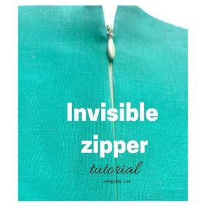 coser cremallera invisible