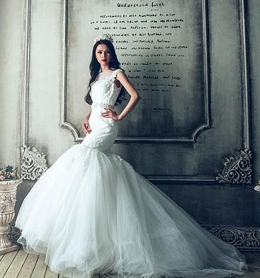 siluetas de vestido de novia