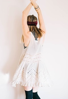 vestido de silueta
