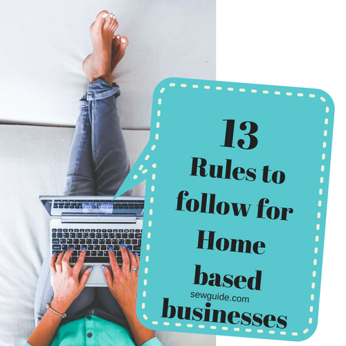 reglas para negocios basados en el hogar