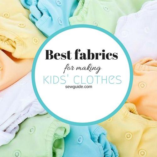 mejor tela para ropa de niños