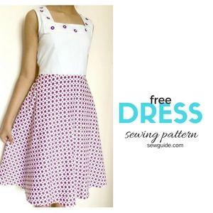 patrón de costura del vestido