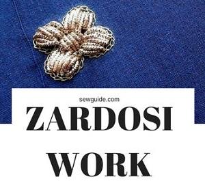 trabajo zardosi