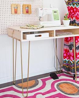 escritorio de costura