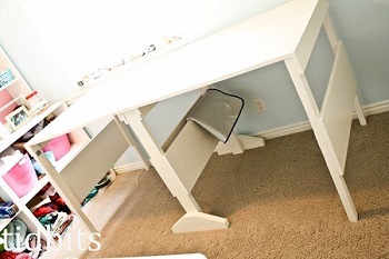 mesa de coser bricolaje