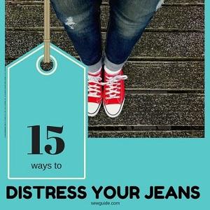 como angustiar jeans