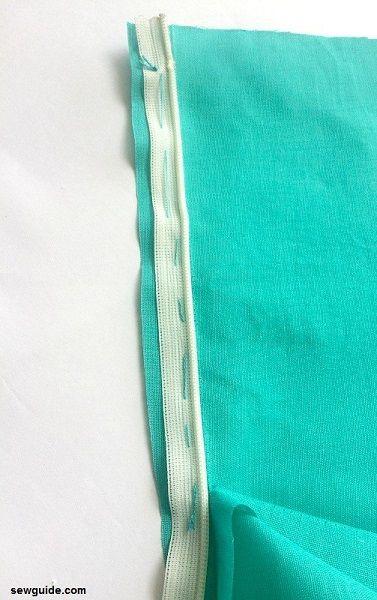 coser cremalleras invisibles en la ropa