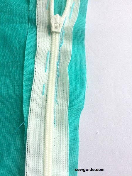 coser cremalleras invisibles