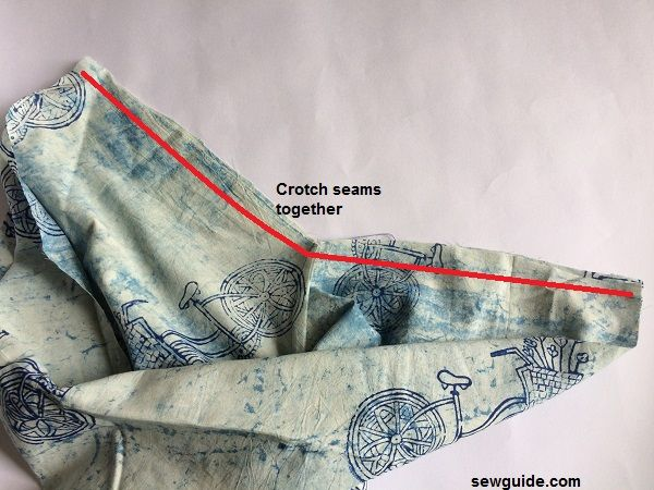 patrón de pantalones de yoga samurai