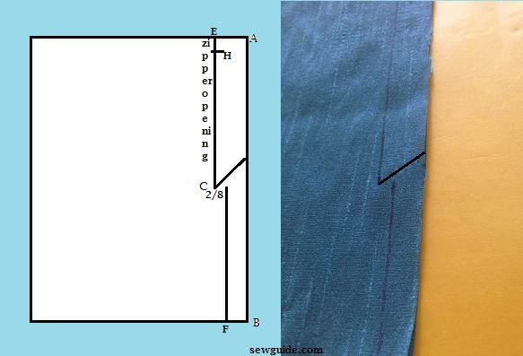 como coser zip