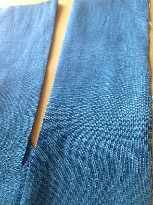 como coser una cremallera