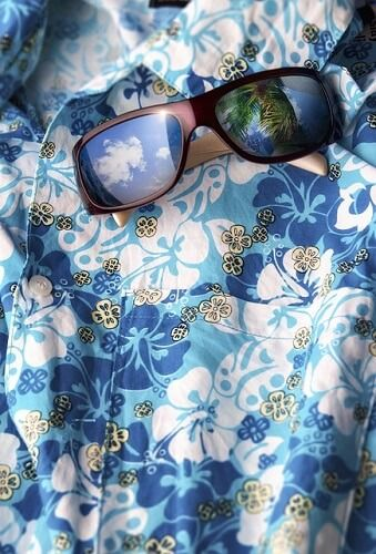camisa aloha