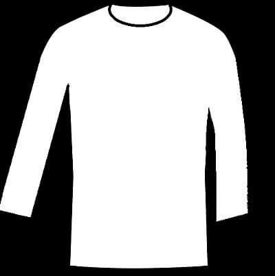 diferentes tipos de camisetas