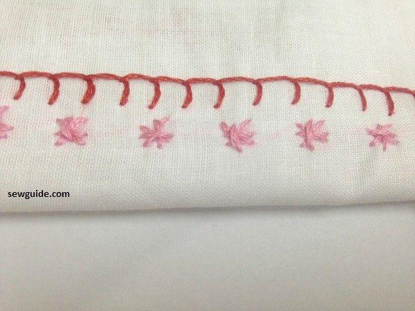 patrones de borde de bordado