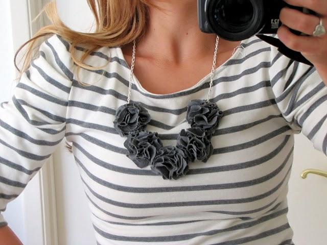 joyas hechas de tela