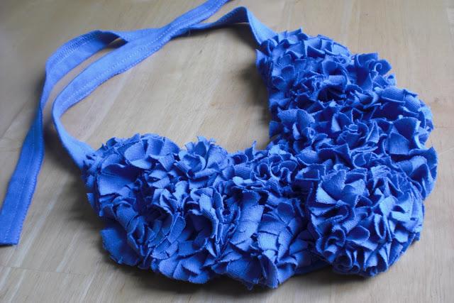 collar de tela