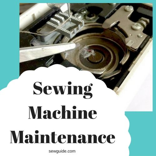 mantenimiento de maquinas de coser
