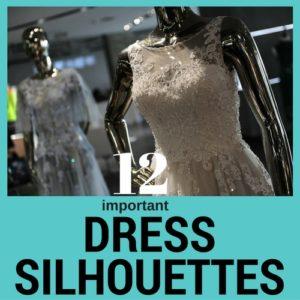 Siluetas de vestir
