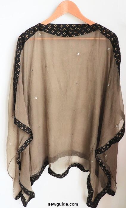 traje de bufanda
