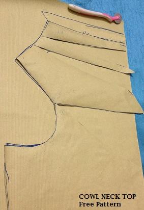 cómo coser un patrón de cuello vuelto