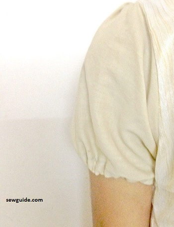 coser mangas abullonadas