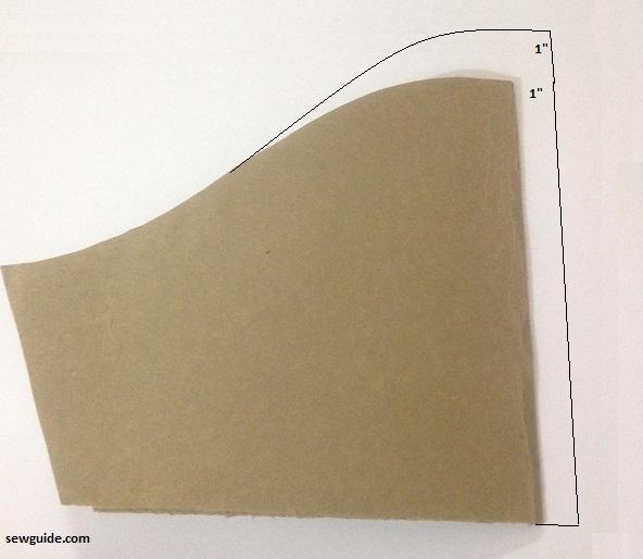 patrón de costura de mangas hinchadas