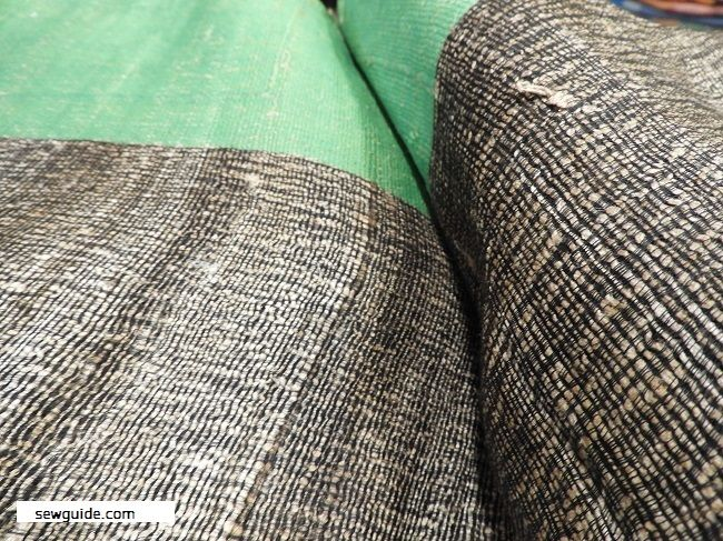 diferentes tipos de tela de seda