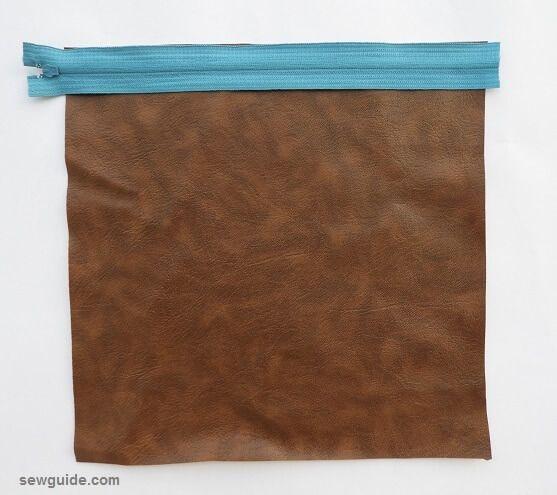 tutorial de costura de bolsa de lápices