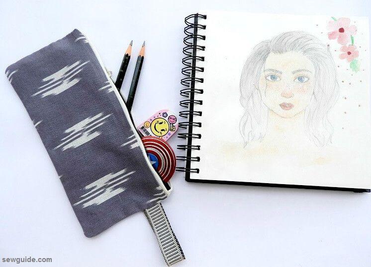 caja de lápices de bricolaje