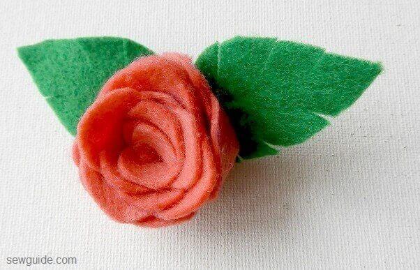 hacer una flor de rosa flet diy