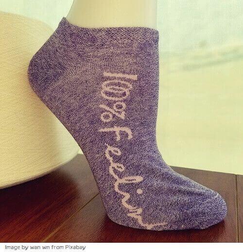 tipos de calcetines largos