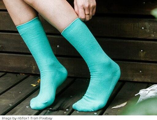nombres y longitudes de calcetines