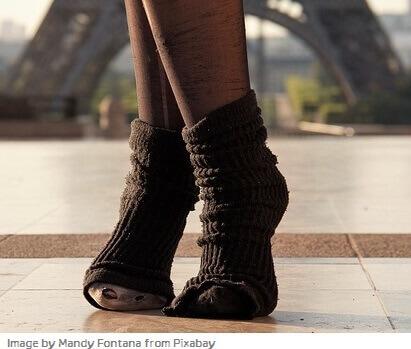 tipos de calcetines para mujer
