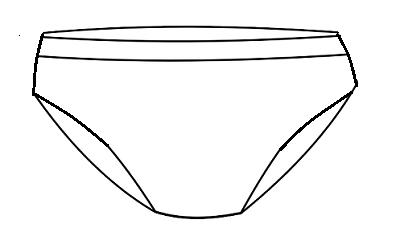 diferentes tipos de ropa interior bragas