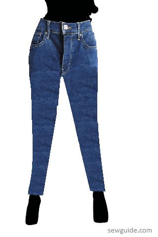 diferentes tipos de jeans