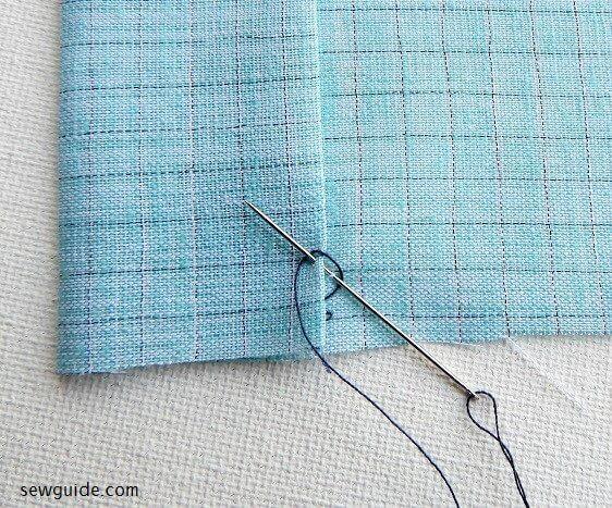 puntadas invisibles para coser
