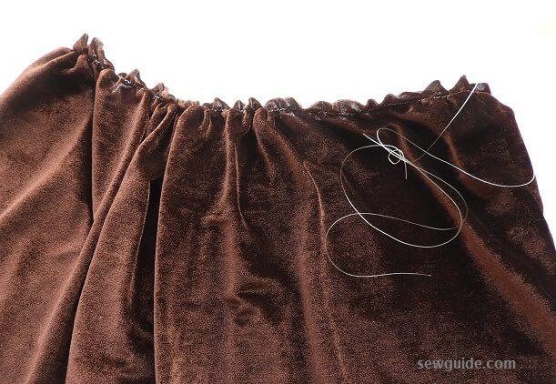 patrón de bricolaje falda niñas