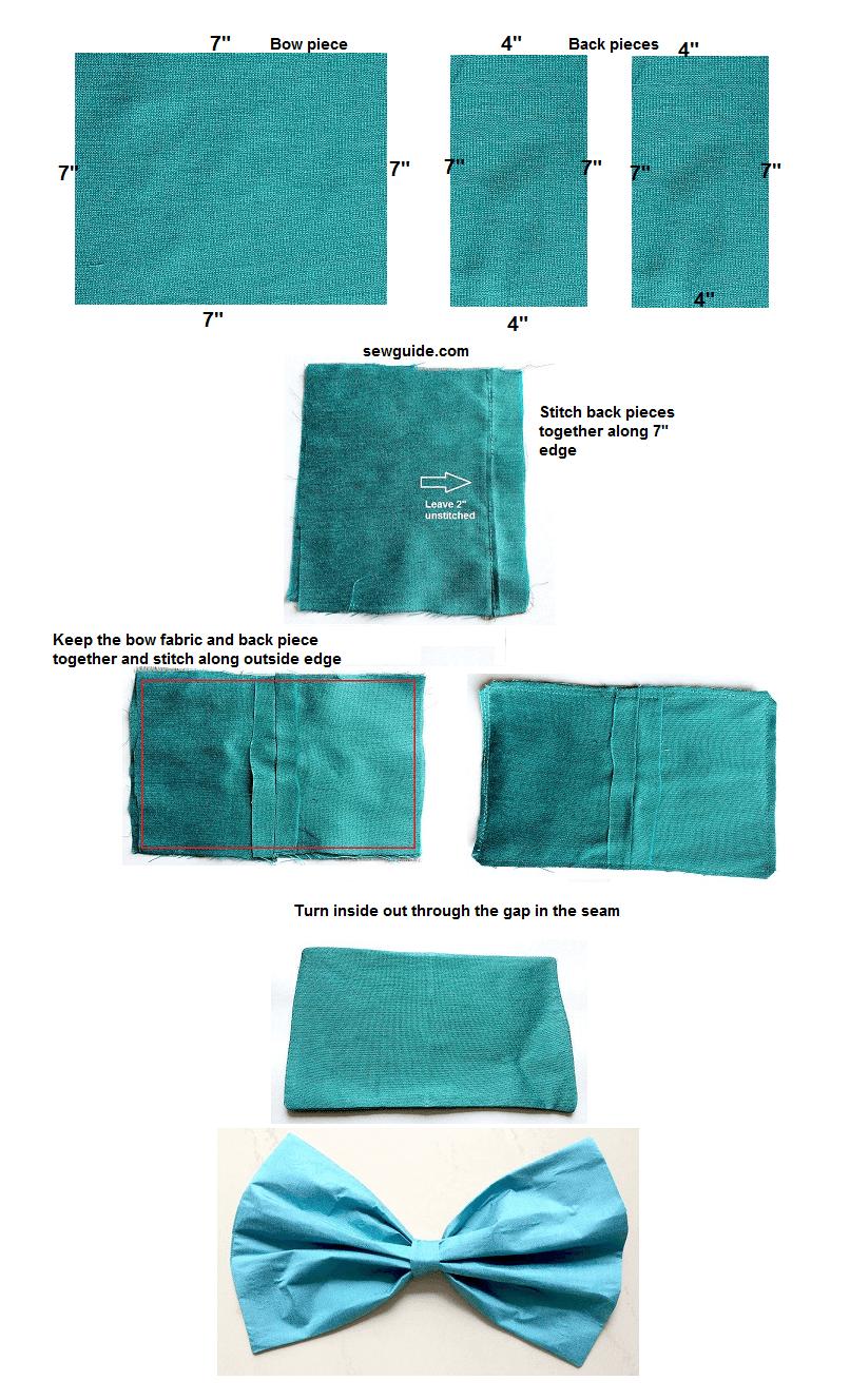 tutorial de bricolaje de tela