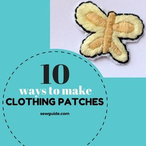 diy parches de ropa