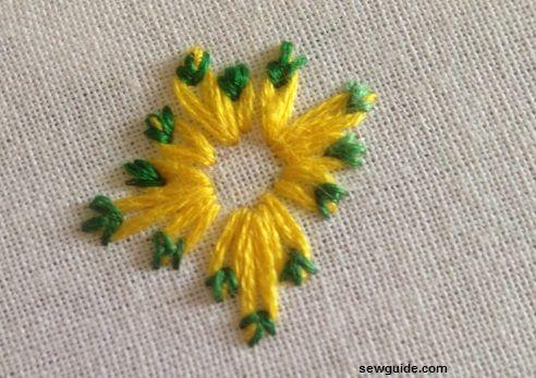 hacer flor de margarita