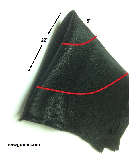 como coser una capa