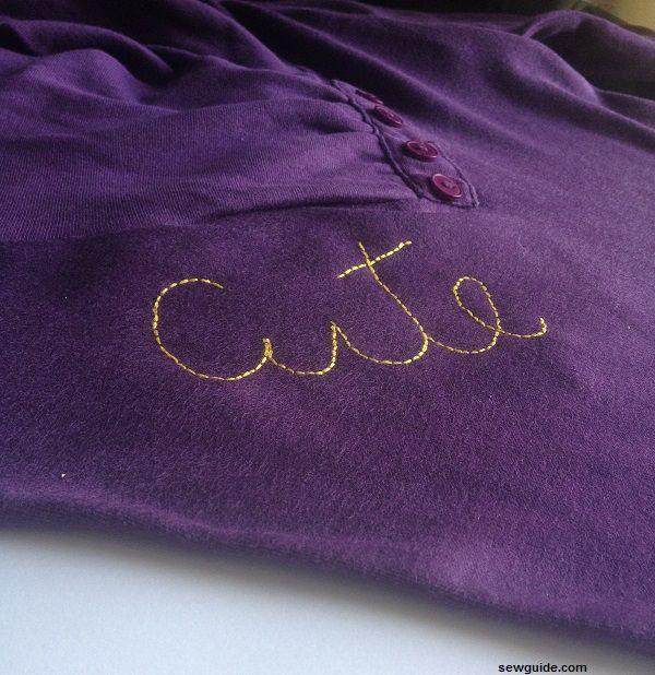 bordar iniciales en lotos