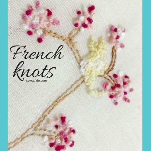 nudos franceses